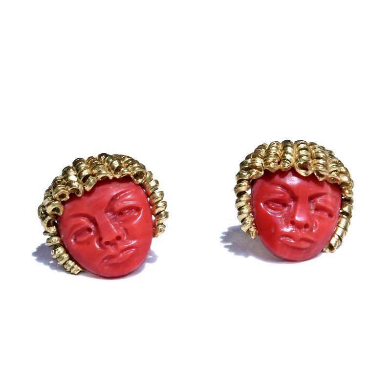 orecchini-faccine-corallo