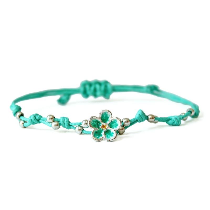 bracciale-non-ti-scordar-di-me-verde-bianco