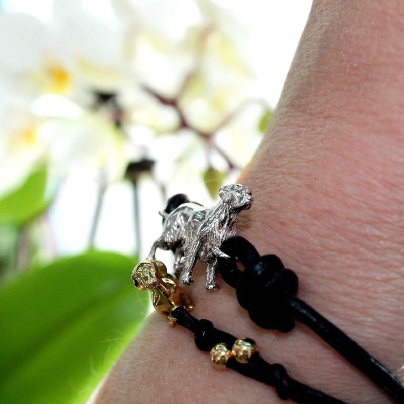 golden-retiever-bracciale